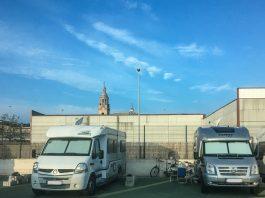 Camper Park km Zero  Übernachtungsplatz in Spanien
