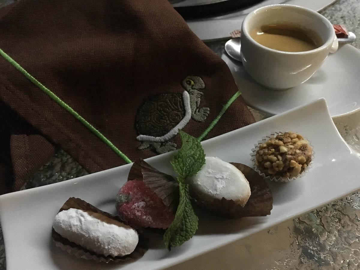 Marokkanischer Sweeties als Dessert - sehr süß - aber auch sehr sehr lecker