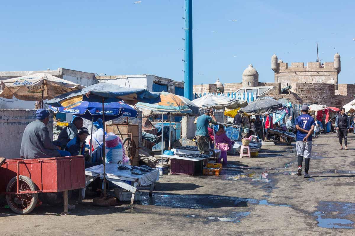 Fischmarkt am Fischereihafen